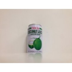 600612 FOCO COCONUT JUICE 11.8OZ