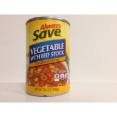 555228 AS VEGETABLE SOUP 10.5OZ