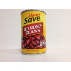 WIC 565086 AS RED KIDNEY BEANS