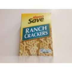 595046 AS RANCH CRACKERS 8OZ