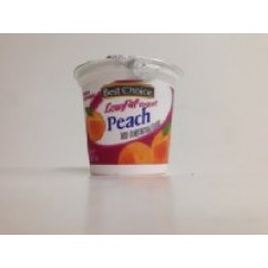 665124 BC PEACH YOGURT